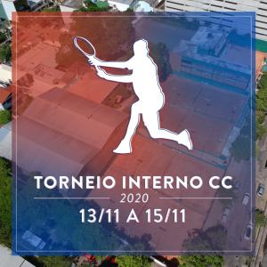 Torneio Interno de Tênis 2020