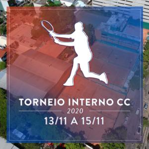 Conheça os campeões do Torneio Interno de Tênis 2020